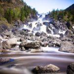 Чульчинский водопад2