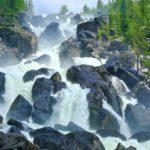 Чульчинский водопад5