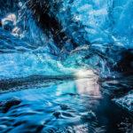 Хрустальная пещераSvínafellsjökull (Исландия)