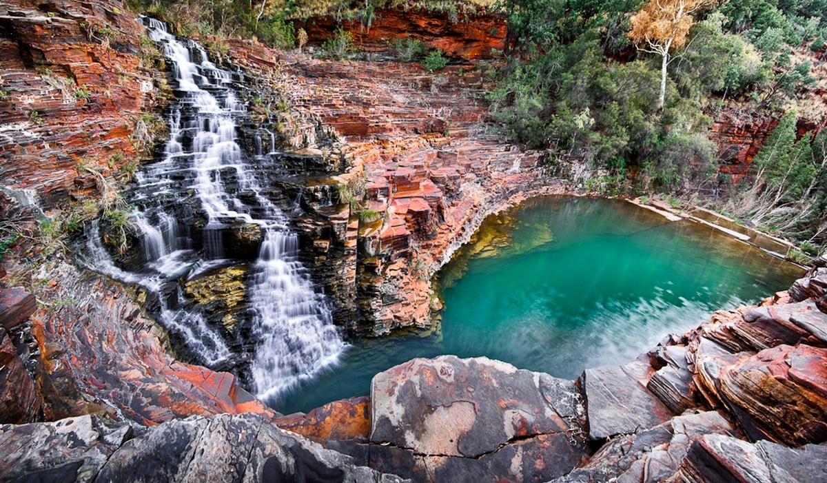 водопад Фортескью, в ущелье Дейлс