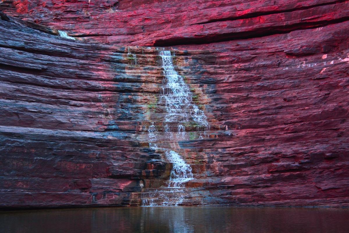 Водопад Национальный парк Кариджини (Австралия)