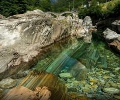 Река Верзаска – самая прозрачная река в мире