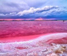 Розовое озеро Ретба в Сенегале (12 фото)