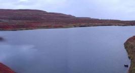 Слоеное озеро желе (Россия)
