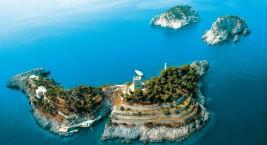 Галло Лунго,остров Ли Галли (Италия)