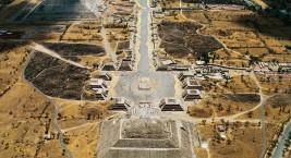 Древний город Теотиуакан (Мексика)