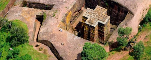 Восьмое чудо света — город высеченных из камня церквей (Эфиопия)