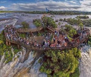 Водопады Игуасу (Бразилия.Аргентина)