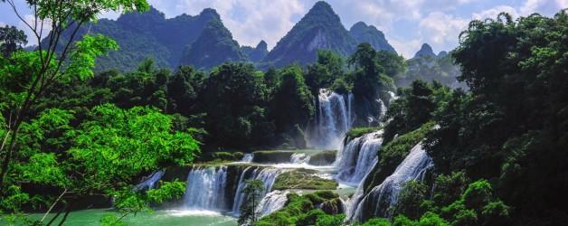Водопад Детян. (Китай. Вьетнам)