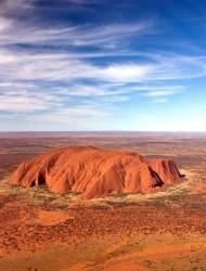 Скала Улуру или Айерс Рок.(Австралия)