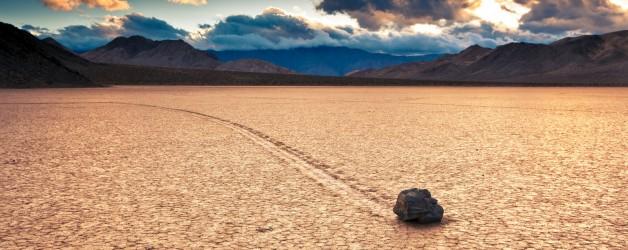 Парусные камни в Долине Смерти