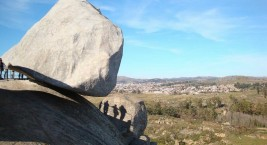 Камень Даваско в Аргентине