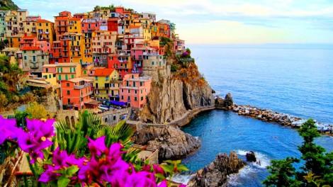 Красочная Манарола. (Италия)